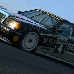 RaceRoom - Mercedes 190E Evo II DTM @ Sachsenring