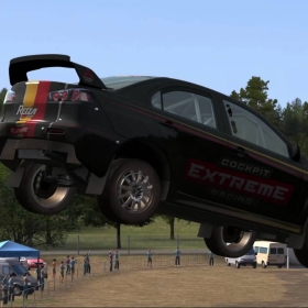Automobilista gameplay- MIT Lancer Evo Rallycross [1440p]