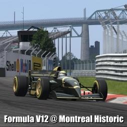 Formula V12 @ Montreal Historic - Automobilista 60FPS
