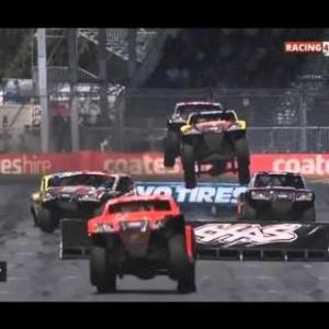 Crashes STADIUM SUPER TRUCKS ADELAIDE 2016 RACE 1 | Crashes And Fails [HD]