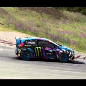 Dirt Rally - Monster FIA World Rally Cross Gameplay - Hell RX Semi Final