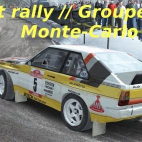 Dirt Rally // Audi Quattro Sport vs Lancia Delta S4 vs Lancia 037 // Montée Carlo