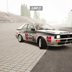 [Café Racing] King of the Ring 1 in the Audi Quattro