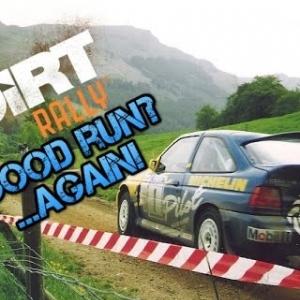 DIRT RALLY, FORD ESCORT COSWORTH, A GOOD RUN AGAIN!