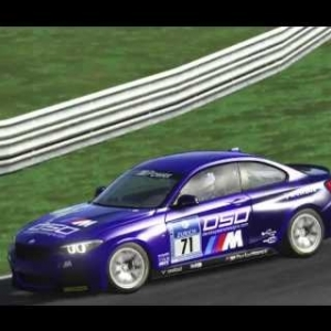 BMW M235i @ Salzburgring battles for the lead
