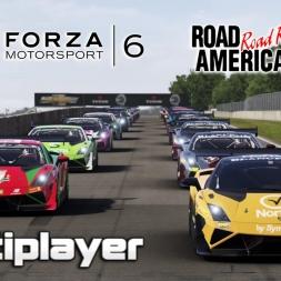 Forza 6 | Multiplayer | Lamborghini Super Trofeo Series  @ Road America