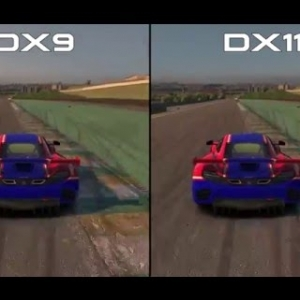 iRacing - DX9 VS DX11/ McLaren MP4-12C GT3 @ Sao Paulo