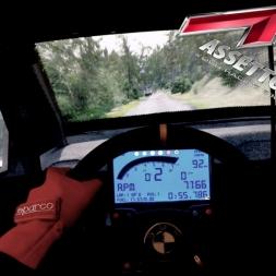 Assetto Corsa - VW Polo WRC @ Peklo Rally - Onboard triple screen