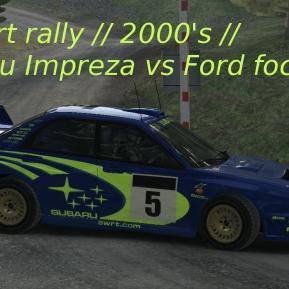 Dirt Rally // Foucs 2001 vs Subaru Impreza 2001 // Wales