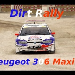 Dirt Rally // Time Attack 11° // 306 Maxi // Germany