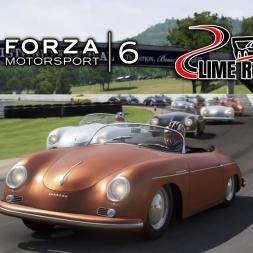 Forza 6 | Porsche Pack | Porsche 356A Speedster  @ Lime Rock Park