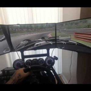 Assetto Corsa Track Nordschleife Tourist  Triplescreen Gopro