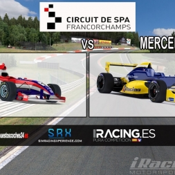 [iRacing Comparative] Star Mazda (vs) Formula Renault 2.0 @ Spa Francorchamps
