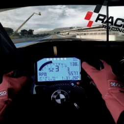 Raceroom - Citroen C-Elysee @ Paul Ricard - Reality Triple Screen