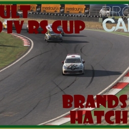 PCars -  Renault Clio RS Cup at Brands Hatch