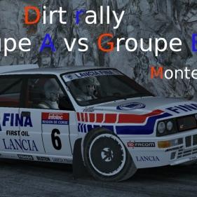 Dirt Rally // Groupe A vs B // Audi Quattro vs Lancia Delta Integrale // Monte Carlo
