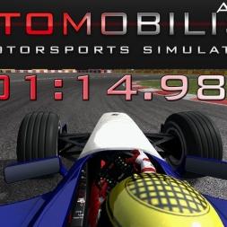 Automobilista - Formula V10 HOTLAP - Monteral - 1:14.983