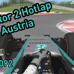 rFactor 2 - F1 2015 - Red Bull Ring Hotlap - AGUKHD