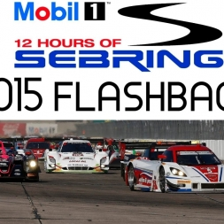 Mobil 1 12 Hours of Sebring 2015 - Flashback Livestream