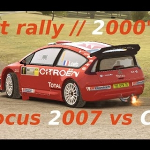 Dirt Rally // Ford Focus 2007 vs Citroên C4 // Germany