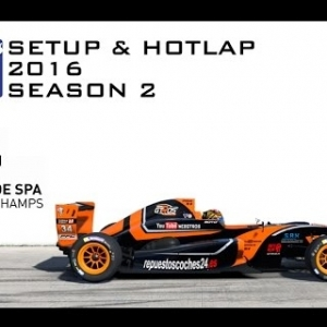iRacing Formula Renault 2.0 @ Spa | Setup & Hotlap 2'17.925 | Season 2 - 2016