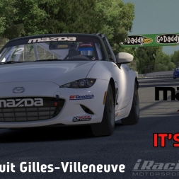 """iRacing: It's Alive!"" (MX-5 Shakedown at Circuit Gilles-Villeneuve)"