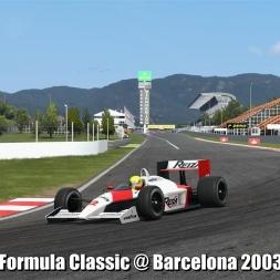 Formula Classic @ Barcelona 2003 - Automobilista 60FPS