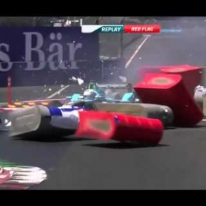 FORMULA E MEXICO HIGHLIGHTS | Crashes And Fails [HD]