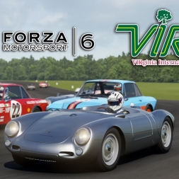 Forza 6 | Porsche Pack | Porsche 550 Spyder  @ Virginia International Raceway