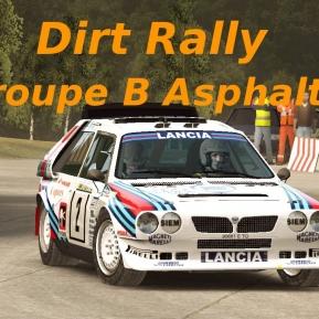 Dirt Rally // Présentation Groupe B // Asphalte