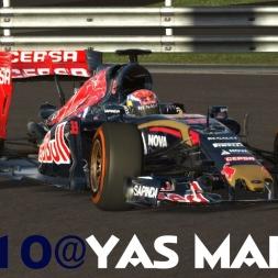 rFactor 2 - STR10 F1 2015 @ Yas Marina