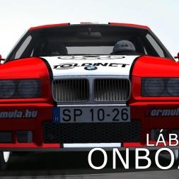 rallyFactor MARB 2015 | Esztergom Rally | SS1 Lábatlan | Balazs Toldi OnBoard