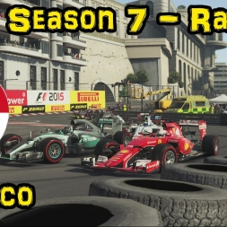 F1XL Season 7 Race Highlights - Round 17: Monaco