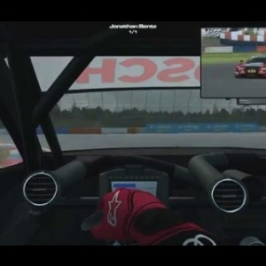 RaceRoom DTM 2015  -  Hotlap of EuroSpeedway Lausitz  -  1:18:602