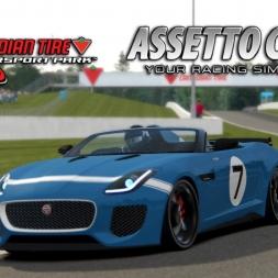 Assetto Corsa | Jaguar F-TYPE Project 7 @ Canadian Tire Motorsport Park