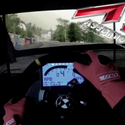 Assetto Corsa - VW Polo WRC @ Rally Zelezniki - Onboard Triple Screen
