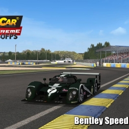 Bentley EXP Speed 8 @ Le Mans Driver's View - Stock Car Extreme 60FPS
