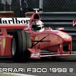 Asseto Corsa Mod - New Ferrari F300 1998 @ Monza