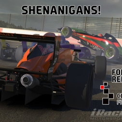 """iRacing: Shenanigans!"" (Formula Renault 2.0 at Circuit de Spa Francorchamps)"