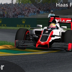 rFactor F1 2016 Grosjean Onboard Melbourne
