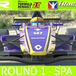 iRacing AOR Formula Renault 2.0 - Round 1 at Spa