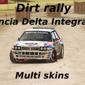 Dirt Rally // Lancia Delta Integrale // Multi skins
