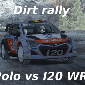 Dirt Rally // Hyundai i20 vs Polo WRC // Monte Carlo : Gordolon