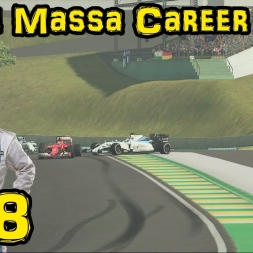 F1 2015 - Felipe Massa Career Mode - Ep 18: Brazil