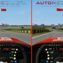 Automobilista Low vs Ultra - Automobilista 60FPS