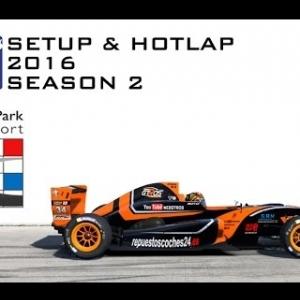 iRacing Formula Renault 2.0 @ Zandvoort | Setup & Hotlap 1'33.910 | Season 2 - 2016