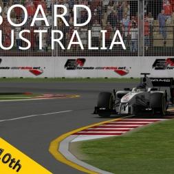 PSRL F1 2013 | Australia Grand Prix | Albert Park | Balazs Toldi Onboard