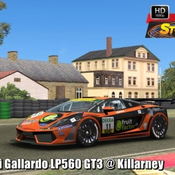 Lamborghini Gallardo LP560 GT3 @ Killarney Driver's View - Stock Car Extreme 60FPS