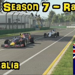 F1XL Season 7 Race Highlights - Round 18: Australia