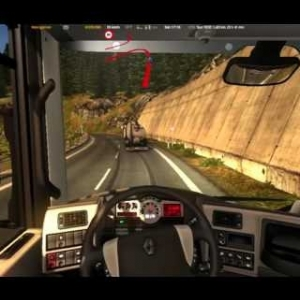 [Euro Truck Simulator 2] Ep. 14 - Beautiful twisty road